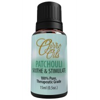 Patchouli Essential Oil by Ovvio Oils | Premium Therapeutic Grade | 100% Pure Aromatherapy | Essential Oil | Large 15 ml
