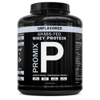 Performance Whey Protein Powder Concentrate - PROMIX Standard 100 Percent All Natural Grass Fed & Undenatured - Best for Optimum Fitness Nutrition Shakes & Energy Smoothie Bowls: Unflavored 5 lb Bulk
