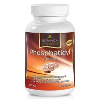 PhosphatidylCholine Complex An All-Natural Nootropic Formula For Brain Health, Liver & Cognitive Support - 60 Phosphatidyl Choline Capsules by Botanica Research