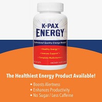 Physician Formulated K-PAX Energy - High Potency Mitochondrial Nutrients - Immune Boosting Energy Multivitamin - 60 Tablets