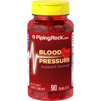 Piping Rock Blood Pressure Support Formula 90 Tablets Dietary Supplement