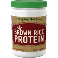 Piping Rock Brown Rice Protein 14 oz (396 g) Bottle Dietary Supplement