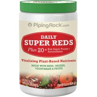 Piping Rock Daily Super Reds Powder 7.1 oz (201 g) Bottle