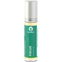 Piping Rock Focus Essential Oil Roll-On Blend 10 mL (0.33 fl oz) Therapeutic Grade