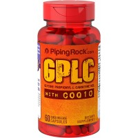 Piping Rock GPLC GlycoCarn Propionyl-L-Carnitine HCl with CoQ10 60 Quick Release Capsules Dietary Supplement
