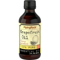 Piping Rock Grapefruit (Pink) 100% Pure Essential Oil 2 fl oz (59 ml) Bottle Citrus Paradisi Therapeutic Grade