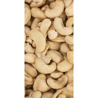 Piping Rock Organic Cashews Raw Whole Unsalted 1 lb (454 g)
