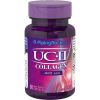 Piping Rock UC-II Collagen Joint Formula 40 mg 60 Quick Release Capsules Dietary Supplement