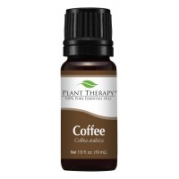 Plant Therapy Coffee Essential Oil. 100% Pure, Undiluted, Therapeutic Grade. 10 ml (1/3 oz).