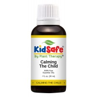 Plant Therapy KidSafe Calming the Child Synergy Essential Oil Blend. 100% Pure, Undiluted, Therapeutic Grade. Blend of: Chamomile Roman, Lavender, Mandarin and Tangerine. 30 mL (1 Ounce).