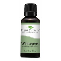 Plant Therapy Wintergreen Essential Oil. 100% Pure, Undiluted, Therapeutic Grade. 30 ml (1 oz).