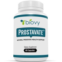 Prostavate™ - Natural Prostate Supplement by Biovy - Powerful Fast-Acting Natural Prostate Formula Created By Licensed Doctors To Give You Quick and Long-Lasting Prostate Care
