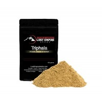 Pure Organic Triphala Powder - Premier Adaptogenic Herb - Digestive System Detox, Rejuvenates Organs, Promotes Absorption of Nutrients - Non-Gmo, Gluten Free, Paleo and Vegan Friendly - (100 g)