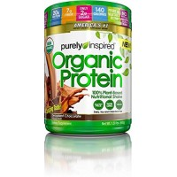 Purely Inspired Organic Protein Powder, 100% Plant Based Protein, Decadent Chocolate Flavor, 1.5lbs