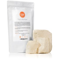 Raw Unrefined African Shea Butter 17 oz – 100% Pure Organic Hand Cut - contains natural Anti-Aging Antioxidants and Vitamin E to Moisturize & Nourish Dry Skin – Natural Skin, Body & Hair Care
