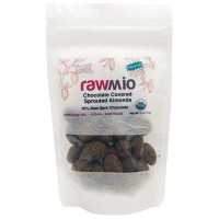Rawmio Chocolate Covered Sprouted Almonds 2 oz 57 g