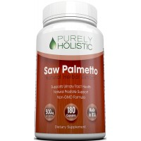 Saw Palmetto 180 Capsules ★ 100% MONEY BACK GUARANTEE ★ Saw Palmetto Extract 500mg - FULL- 6 Months Supply