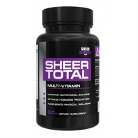 Sheer TOTAL Multivitamin for Men - 29 Vitamins, Minerals, and Whole Food Sources, 60 Men's Multivitamin Capsules, 30 Day Supply