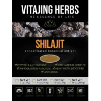 Shilajit Extract Powder 20:1 - Ionic Mineral Complex, Increase Energy, 100% PURE POTENT EXTRACT, No Fillers, Binders or Additives! (2oz)