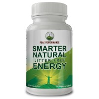 Smarter Natural Jitter-Free Energy By Peak Performance For Energy + Focus. Enhanced With Arabica Bean Caffeine + L-Theanine 90ct Pills / Capsules… (1 pack)