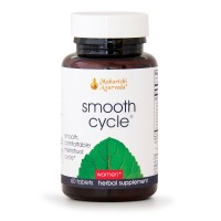 Smooth Cycle | 60 Herbal Tablets | Herbal Relief to Support a Smooth, Comfortable Menstrual Cycle | Powerful Female-Targeted Herbs: Asoka Tree & Lodh Tree | Helps with Cramping & Irritability