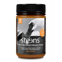 Steens Manuka Honey UMF 10 (MGO 263) 17.6 Ounce jar| Pure Raw Unpasteurized Honey From New Zealand NZ| Contains Natural Healing Properties for Sore Throats & Immunity | Traceability Code on Each Label
