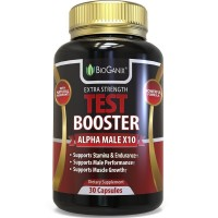 Testosterone Booster Supplement - Alpha Male Max Potency Natural Test Booster Pills For Men To Improve Stamina, Performance & Build Muscle Mass - Maca, Tribulus, Fenugreek, Tongkat Ali