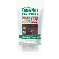 TigerNut Raw Granola (Banana - Cacao, 1 x 8oz)