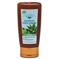 Tree Hut Soothing Foot Cream, Aloe and Peppermint, 5.8-Ounce by Tree Hut
