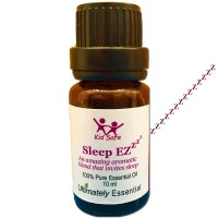 """Ultimately Essential """"Sleep EZ"""" Essential Oil Blend of Lavender, Clary Sage, Sweet Orange, Sweet Marjoram, Bergamot, Ylang Ylang – Wondrous Aroma That Will Soothe You to Sleep Every Time–10 ml"""