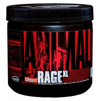 Universal Nutrition Animal Rage XL Pre Workout Ultimate Energy and Performance Stack, Mango Unchained, 30 Servings