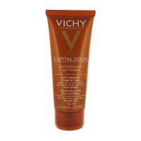 Vichy Capital Ideal Soleil Autobronzant Self Tanner Lotion for Face and Body, 4.53 fl. oz.
