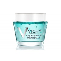 Vichy Quenching Mineral Facial Mask for Dry Skin with Vitamin B3, 2.54 fl. oz.