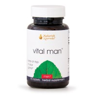 Vital Man | 90 Tablets | Natural Herbal Supplement for Energy & Stamina | Promotes Healthy Reproductive System with Ashwagandha & Licorice | Boosts Resistance to Stress | Supports Healthy Libido