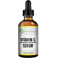 Vitamin C Serum Atni Aging Supplement - 4 oz Super Strength 20% with Hyaluronic Acid for Skin - Hydrating Wrinkle Repair - Removes Dark Circles fades Age Spots All Organic Premium Nature