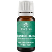 Wintergreen Essential Oil. 10 ml. 100% Pure, Undiluted, Therapeutic Grade.