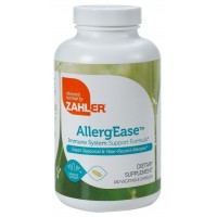 Zahler AllergEase, Advanced Formula for Allergy Relief, Helps Reduce Seasonal Discomfort and Histamine Control Supplement, SupportsmHealthy Immunity, Certified Kosher, 180 Capsules