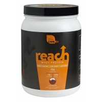 Zahlers Reach, Whey Protein Shake Powder, Advanced Formula for Lean Muscle Build, Naturally Sweetened and Flavored, Certified Kosher, Great Tasting Chocolate Flavor, 1.1 Pound