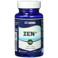 Zen+ | Anti-Anxiety Supplement | Improve Mood, Focus & Concentration | Non-Drowsy | Fast-Acting Premium Ingredients by 88Herbs
