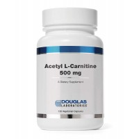 Douglas Laboratories - Acetyl-L-Carnitine - Supports Brain and Nerve Function During The Normal Aging Process* - 120 Capsules