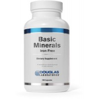 Douglas Laboratories - Basic Minerals - Iron Free Mineral/Trace Element Formula to Support Overall Health* - 180 Capsules