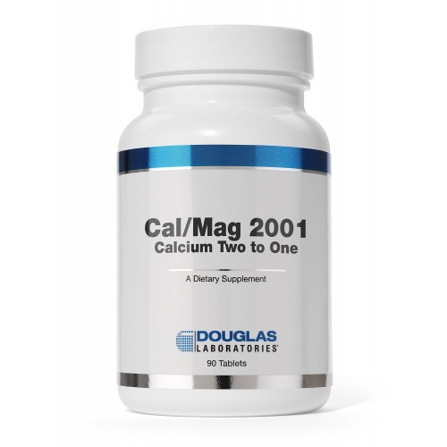 Douglas Laboratories - Cal/Mag 2001 (Calcium Two to One) - with Magnesium and Other Nutrients to Support Healthy Bone Structure* - 180 Tablets