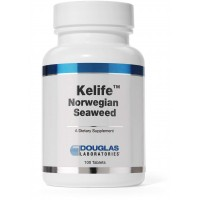 Douglas Laboratories - Kelife Norwegian Seaweed - Iodine and Minerals to Support Thyroid, Cellular Growth, and Detoxification* - 100 Tablets