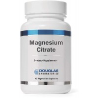 Douglas Laboratories - Magnesium Citrate - Supports Enyzmatic Activity, Muscles and Nerves* - 90 Capsules