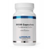 Douglas Laboratories - MSM Capsules (Fundamental Sulfur) - Supports Joint, Connective Tissue, Hair, Skin, and Liver Health* - 100 Capsules