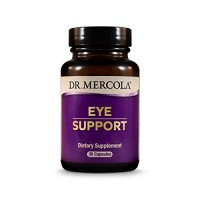 Dr. Mercola, Eye Support with 10 mg of Lutein, 30 Servings (30 Capsules), non GMO, Gluten Free