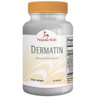 Dermatin Excema Treatment for Dermatitis Relief - Natural Eczema Pills That work with Itching Creams for Faster Relief - Includes Zinc, Selenium, Omega 3, Artichoke, Grape Seed Extract, and Milk Thistle