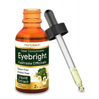 Horbaach Eyebright Herb | 2 oz | Alcohol Free | Super Concentrated | Vegetarian, Non-GMO, Gluten Free Liquid Tincture Supplement Drops