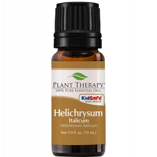 Plant Therapy Helichrysum Italicum Essential Oil 10 milliliter (1/3 ounce) | 100% Pure, Undiluted, Natural Aromatherapy, Therapeutic Grade