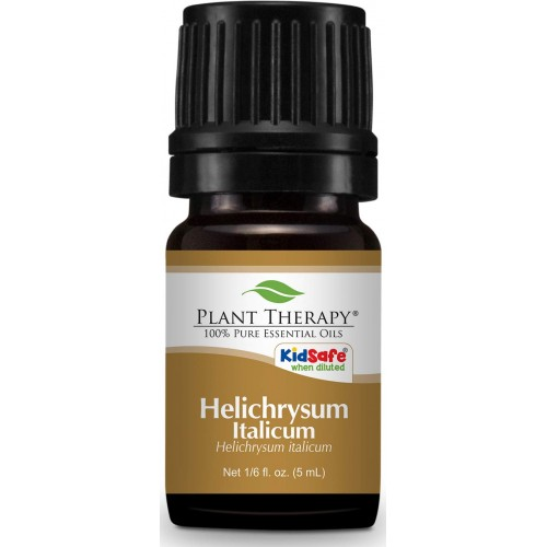 Plant Therapy Helichrysum Italicum Essential Oil 5 milliliter (1/6 ounce) | 100% Pure, Undiluted, Natural Aromatherapy, Therapeutic Grade